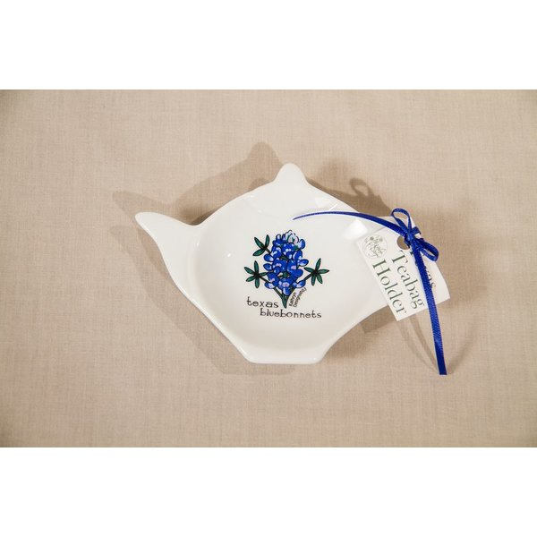Texas Traditions TEXAS BLUEBONNET TEA BAG HOLDER