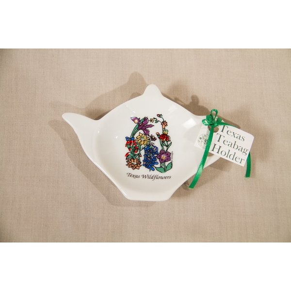Texas Traditions WILDFLOWERS OF TEXAS TEA BAG HOLDER