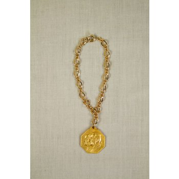All the way with LBJ JOHNSON/HUMPHREY  INAUGURAL BALL BRACELET - 1/10 10 K GOLD