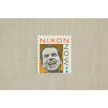 NIXON NOW CAMPAIGN STAMP