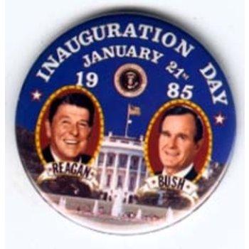 REAGAN BUSH INAUGURATION 1-21-1985