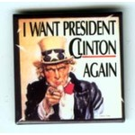 I WANT PRES CLINTON AGAIN