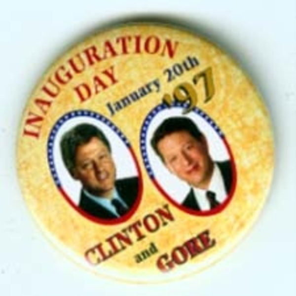 CLINTON INAUGURATION DAY '97