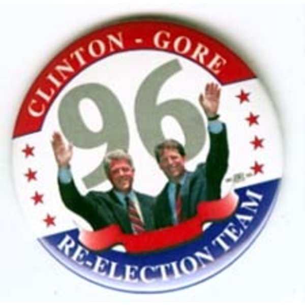CLINTON GORE RE-ELECTION 96