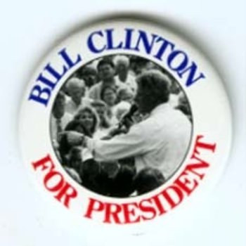 LARGE BILL CLINTON FOR PRES