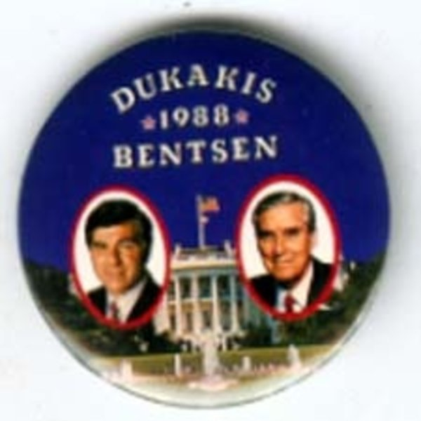 LARGE DUKAKIS 1988 BENTSEN