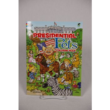 PRESIDENTIAL PETS COLORING BOOK