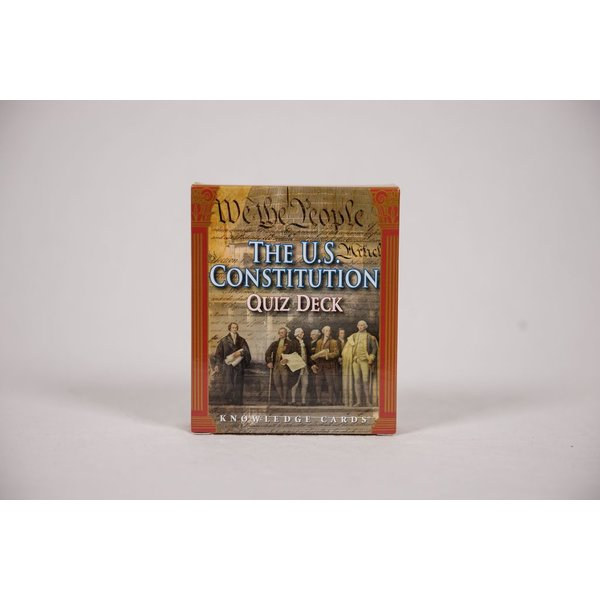 Patriotic US CONSTITUTION KNOWLEDGE CARDS