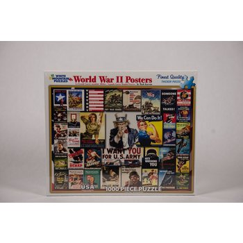 Patriotic PUZZLE-WWII POSTERS 1000 pcs