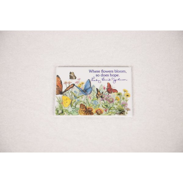 Lady Bird LADY BIRD FLOWERS BLOOM MAGNET