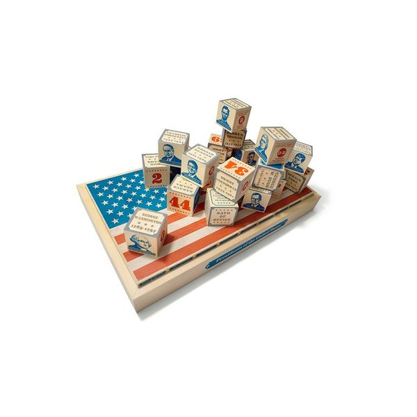 Patriotic PRESIDENTIAL BLOCKS SET