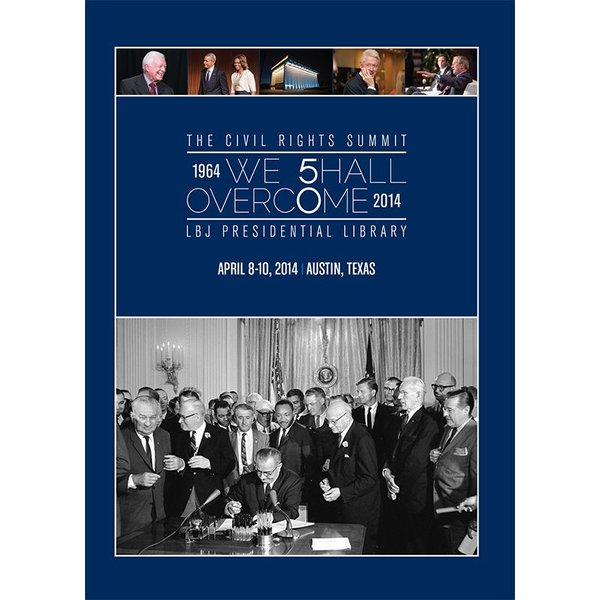 Civil Rights This 3-DVD set is a full recording of the historic Civil Rights Summit, held April 8 - 10, 2014 at the LBJ Presidential Library.
