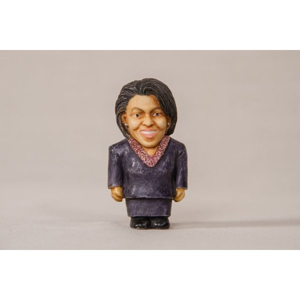MICHELLE OBAMA POT BELLY FIGURINE