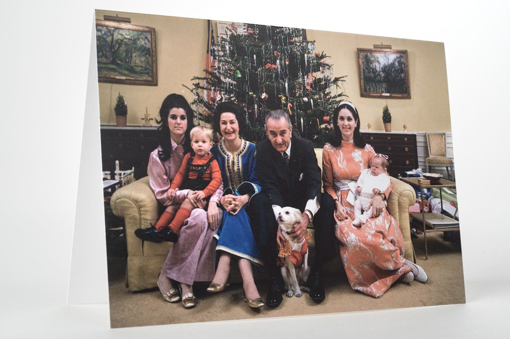 Holiday LBJ FAMILY CHRISTMAS CARD