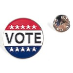 Patriotic VOTE LAPEL TAC PIN