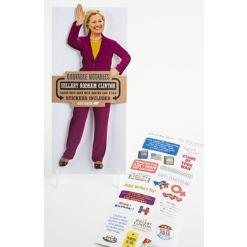 HILLARY CLINTON NOTABLE QUOTABLE CARD