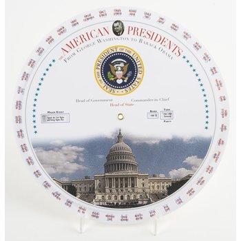 AMERICAN PRESIDENTS CHART WHEEL
