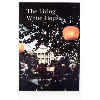 "All the way with LBJ VINTAGE, ORIGINAL ""THE LIVING WHITE HOUSE"" -1966"