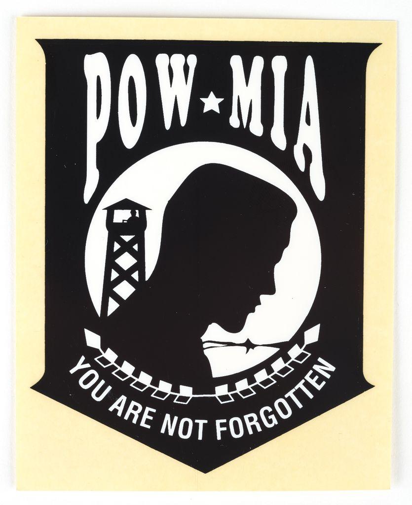Pow Mia Sticker The Store At Lbj