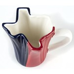 TEXAS SHAPED MUG