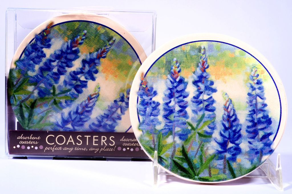 Texas Traditions Bluebonnet Coaster Single The Store At Lbj