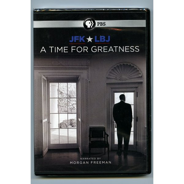All the way with LBJ JFK & LBJ TIME FOR GREATNESS DVD
