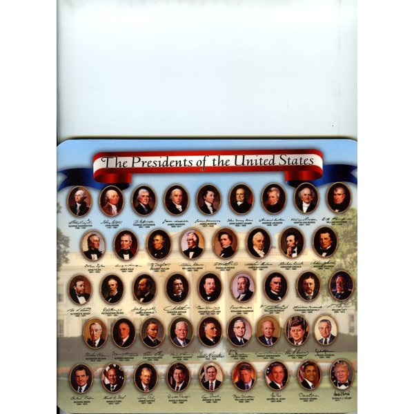 Patriotic PRESIDENTS MOUSEPAD