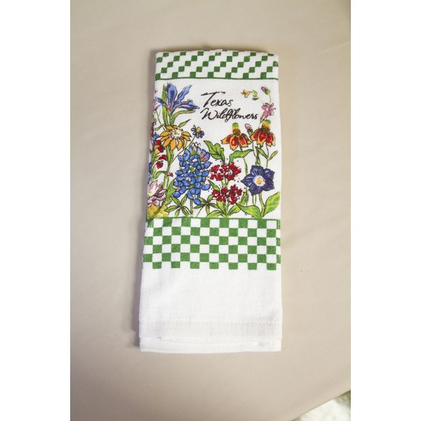 Texas Traditions WILDFLOWERS OF TEXAS TOWEL