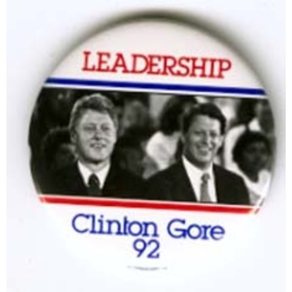 LEADERSHIP CLINTON GORE '92