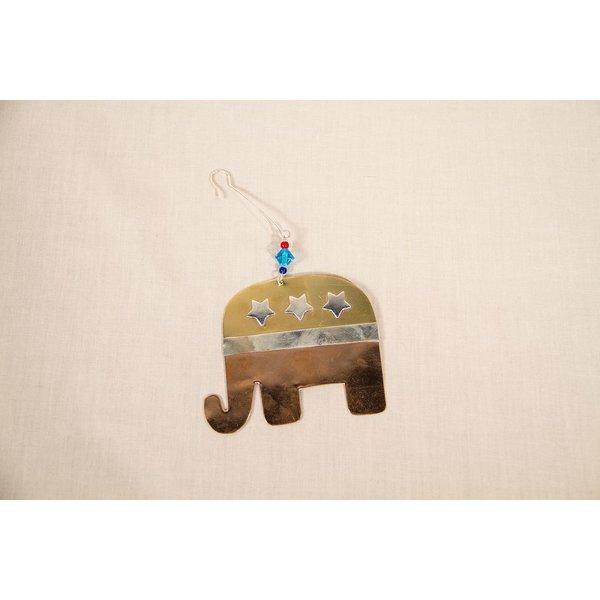 Holiday FAIR TRADE ELEPHANT ORNAMENT