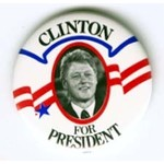 CLINTON FOR  PRES CELLO