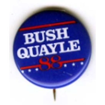 GHW BUSH QUAYLE *** 88 ***