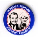 MONDALE FERRARO FOR NEW LEADERSHIP