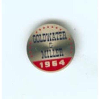 PIN GOLDWATER & MILLER 1964