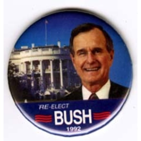 RE-ELECT GHW BUSH 1992 WHITE HOUSE