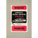 1964 DNC ASSTD PLASTIC PASS