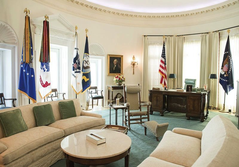 lbj oval office. LBJ LIBRARY OVAL OFFICE REPLICA POSTCARD Lbj Oval Office E