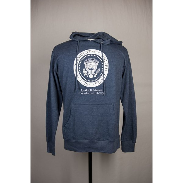 LBJ PRESIDENTIAL SEAL HOODED SWEATSHIRT