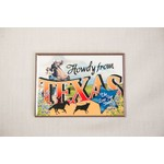 Texas Traditions sale-HOWDY VINTAGE MAGNET