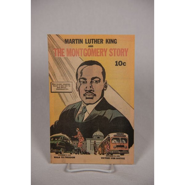 Civil Rights MLK  & MONTGOMERY STORY COMIC