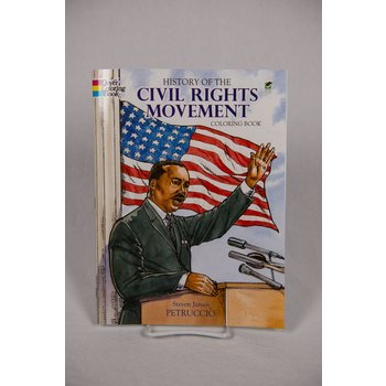 Civil Rights PAPERBACK. A historically accurate account of the United States Civil Rights movement that teaches through images to color.