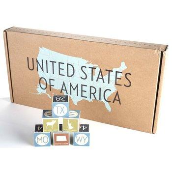 UNITED STATES BLOCKS SET
