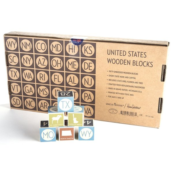 UNITED STATES BLOCKS SET