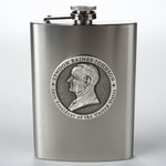 All the way with LBJ PEWTER DETAIL LBJ FLASK