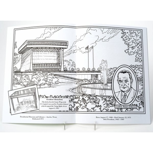 presidential libraries coloring book presidential libraries coloring book
