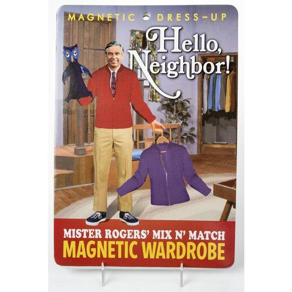 MISTER ROGERS MAGNET DRESS UP