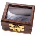 WOODEN BOX FOR HURDY GURDY