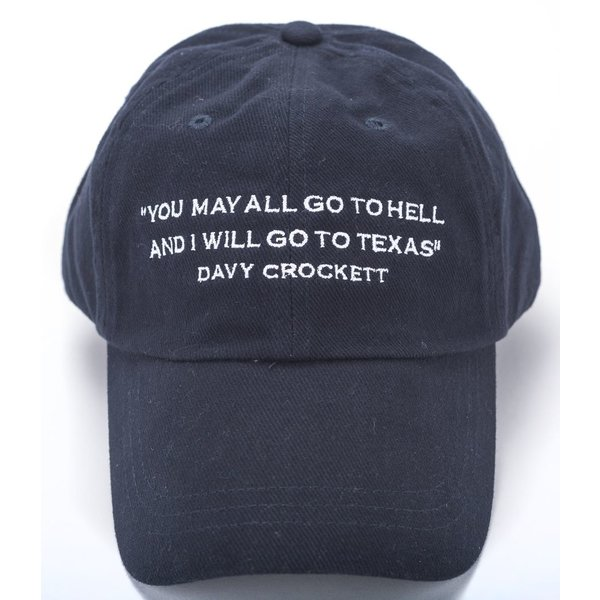Texas Traditions DAVY CROCKETT CAP