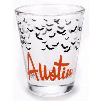 Texas Traditions AUSTIN BATS SHOTGLASS