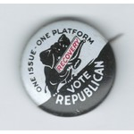 HOOVER 1932 CAMPAIGN BUTTON
